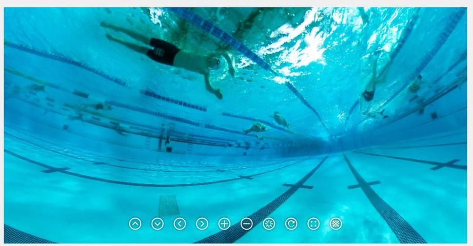 360º Piscina Olímpica Tour